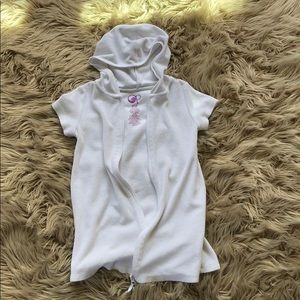 Other - *Girls Zip Up Hooded Swimsuit Coverup*